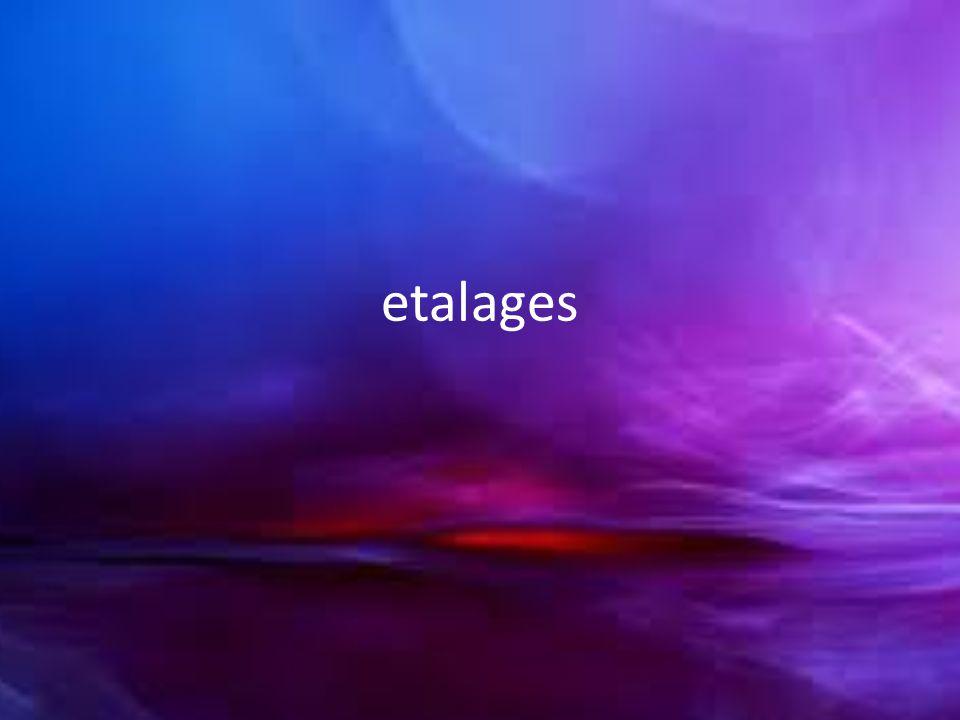 etalages