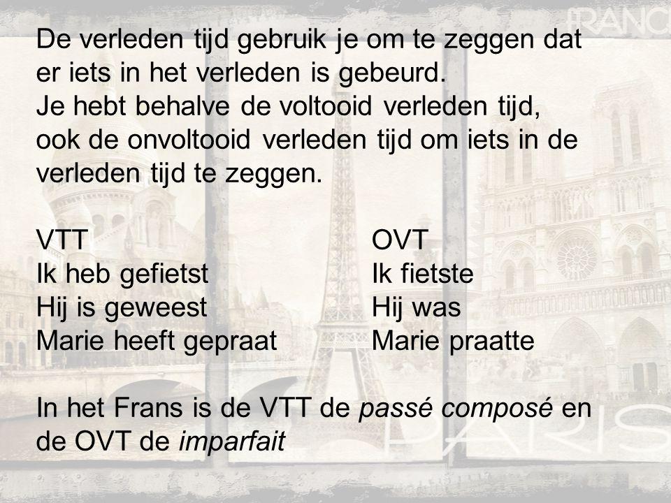 Wat moet je weten om dit onderdeel te begrijpen?: Personen in het Frans (je, tu, il, elle, on, nous, vous, ils, elles) Werkwoorden op –er