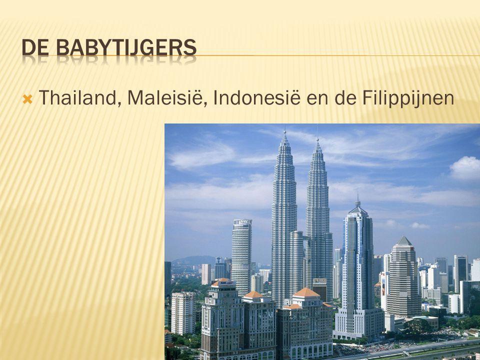  Thailand, Maleisië, Indonesië en de Filippijnen