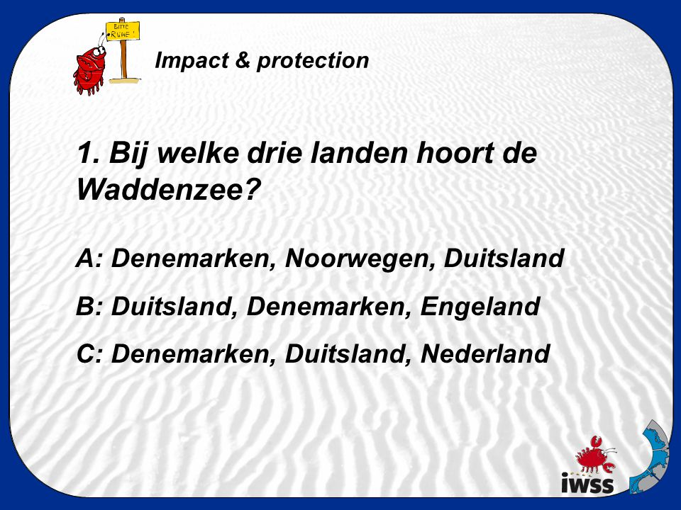 Antwoorden... Impact & protection