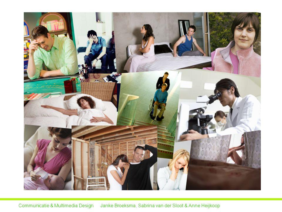 Doelen Communicatie & Multimedia Design Janke Broeksma, Sabrina van der Sloot & Anne Heijkoop