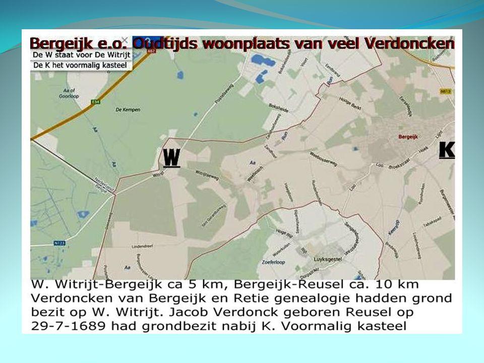 Bergeijk genealogie Verdon©k Foto's, een plattegrond, advertenties en bidprentjes.