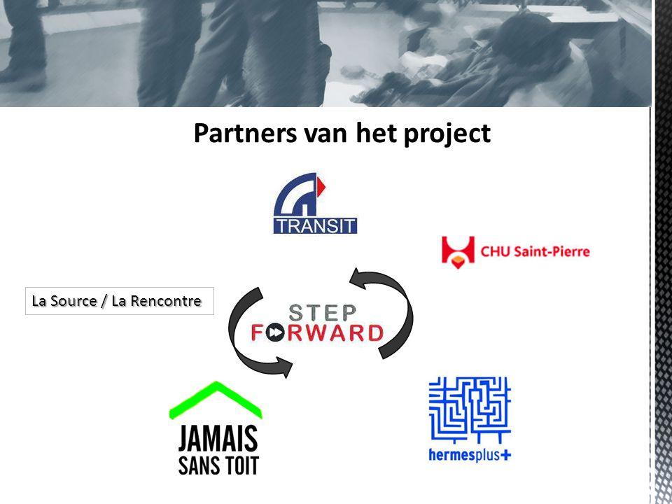 Partners van het project La Source / La Rencontre