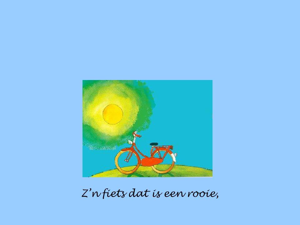 En zie je hem ooit fietsen, zeg hem van mij gedag.