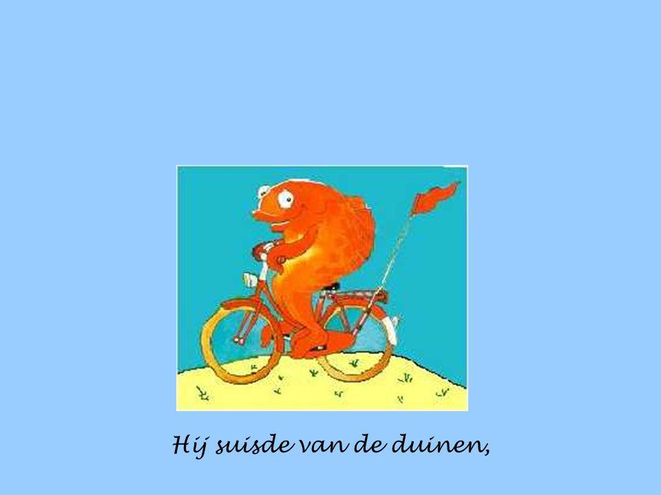 Z'n fiets dat was een rooie, en rood was ook zijn vlag.