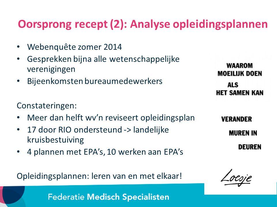 Nederlandse Vereniging voor Anesthesiologie Uitgangspunten herziening Common Trunk (CT) gevolgd door drie mogelijke uitstroomprofielen: Anesthesioloog - Perioperatief specialist Anesthesioloog - Pijnspecialist Anesthesioloog - Intensivist Competentiegericht opleiden: nog meer leidend Eerdere ervaring bepaalt mede de invulling van het individuele opleidingsplan Diversiteit tussen & binnen clusters is een kracht Clusters zorgen voor breed palet aanbod AIOS heeft de regie, samen met de eindverantwoordelijk opleider Operationaliseren van competentiegericht opleiden: -> de EPA als verbinding tussen competenties en klinische praktijk
