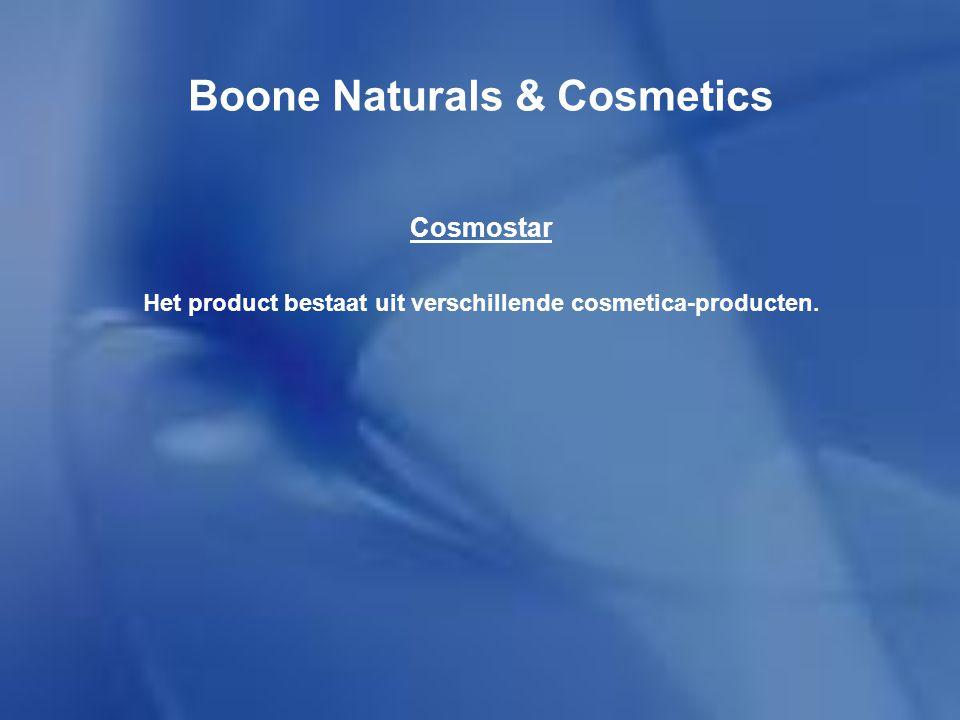 Boone Naturals & Cosmetics Nutrastar Het is een dieet product met maaltijdvervangende milkshakes.
