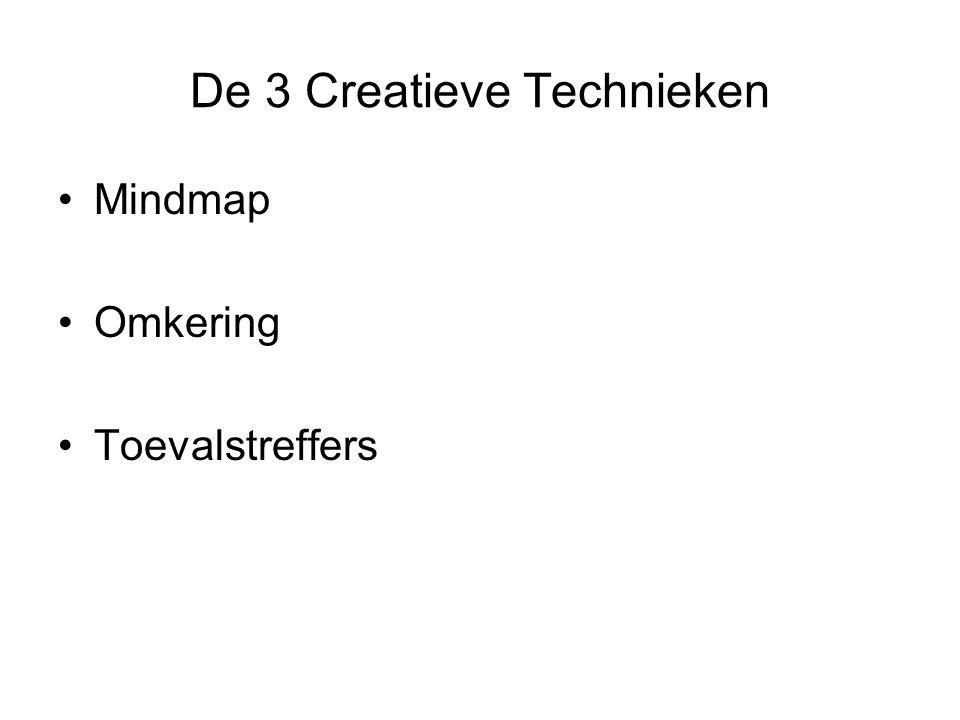 De 3 Creatieve Technieken Mindmap Omkering Toevalstreffers