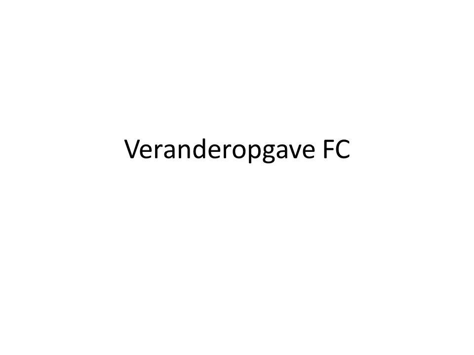 Veranderopgave FC