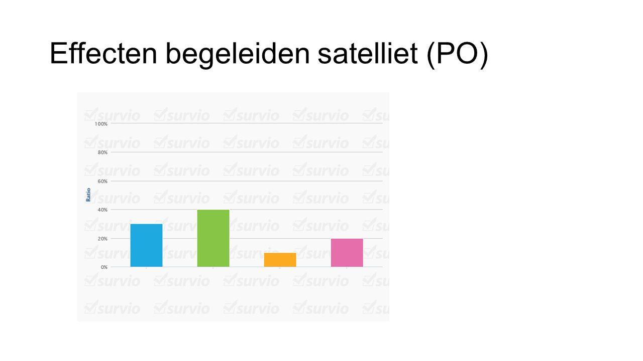 Effecten begeleiden satelliet (PO)