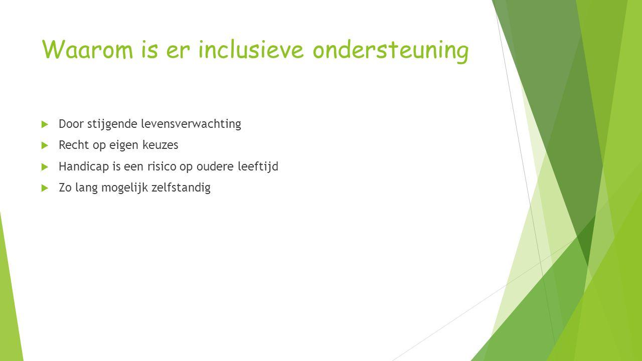 Onderzoek naar mogelijkheden en beperkingen  Oktober 2007  HUB  Vragen:  Nodige ondersteuningsfuncties  Wat betekent zinvol ouder worden  Hoe kan het beleid inclusieve ondersteuning bieden.