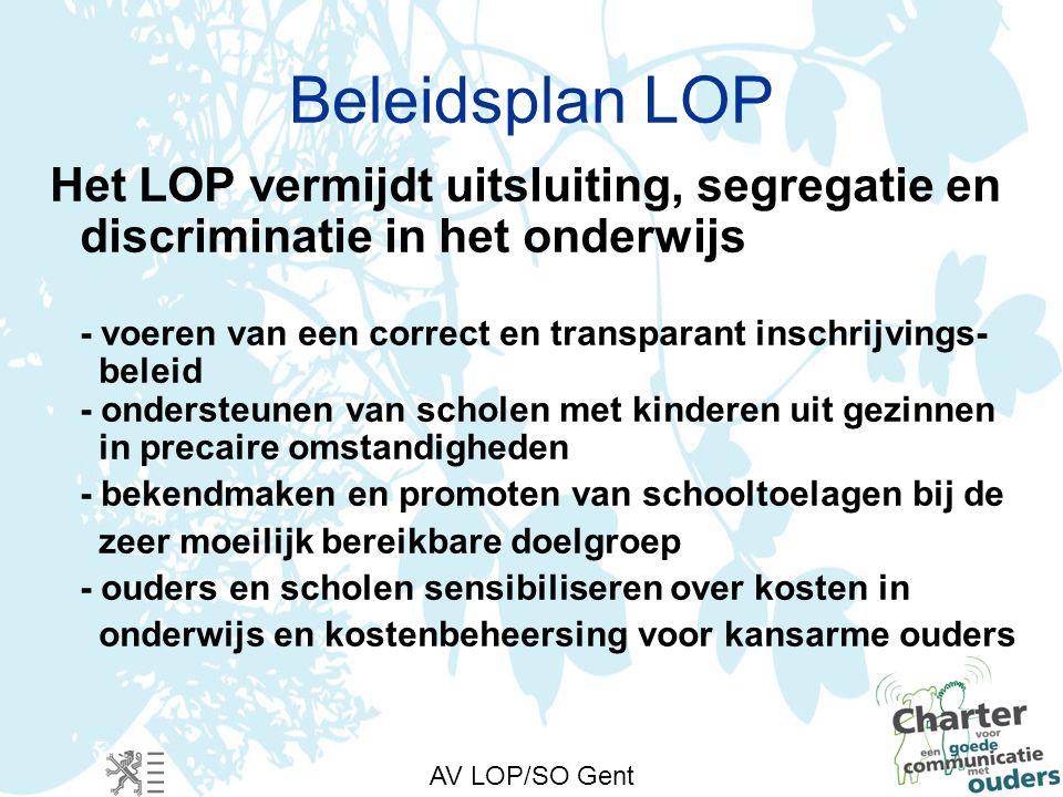 Steunpunt LP/LR Nulmeting spijbelen secundair onderwijs LOP/SO Gent Anja De Rouck