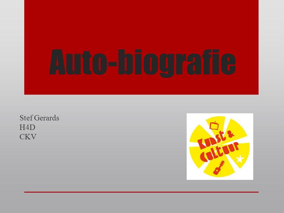Auto-biografie Stef Gerards H4D CKV