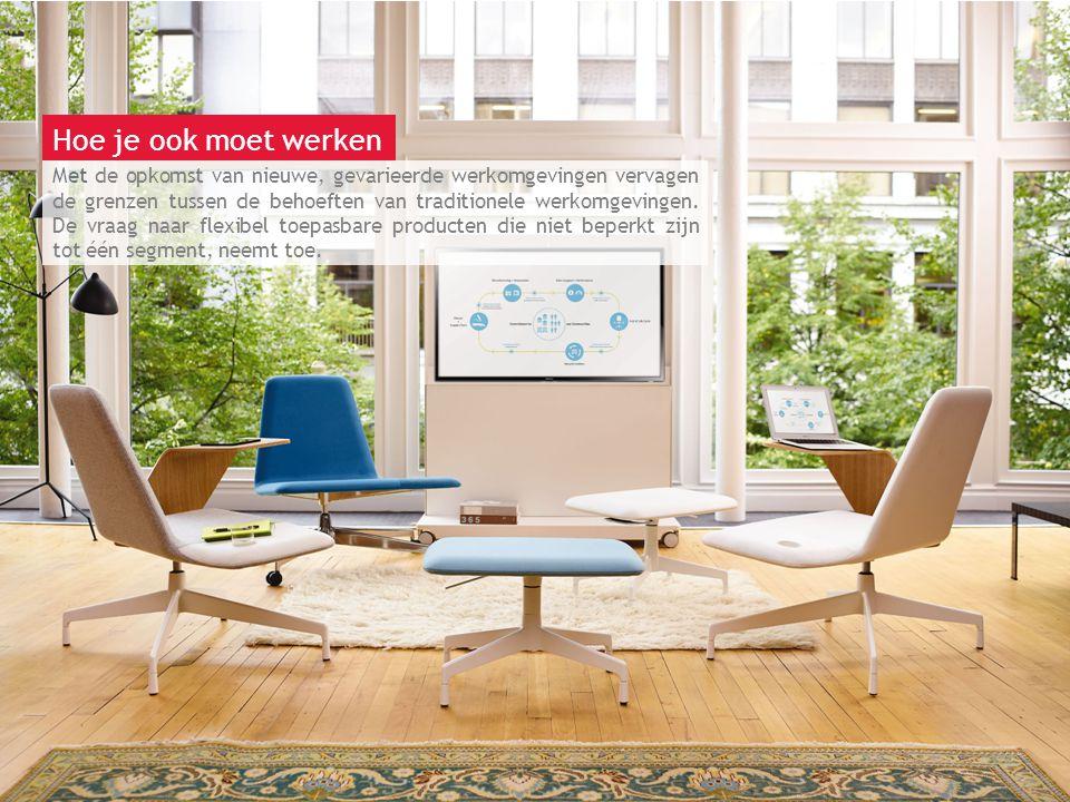 13 maart 2014 | Berlijn Dankzij nieuwe en opkomende technologie kan werk overal worden uitgevoerd; Harbor Work Lounge is speciaal ontworpen om zich aan te passen aan u en uw behoeften.