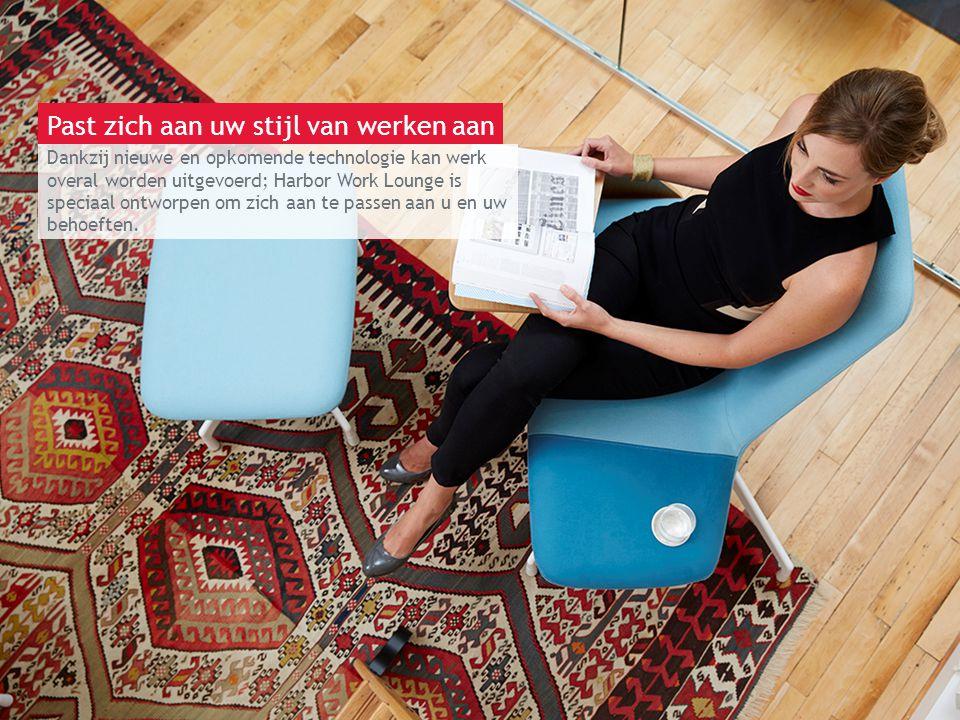 13 maart 2014 | Berlijn Dankzij nieuwe en opkomende technologie kan werk overal worden uitgevoerd; Harbor Work Lounge is speciaal ontworpen om zich aa
