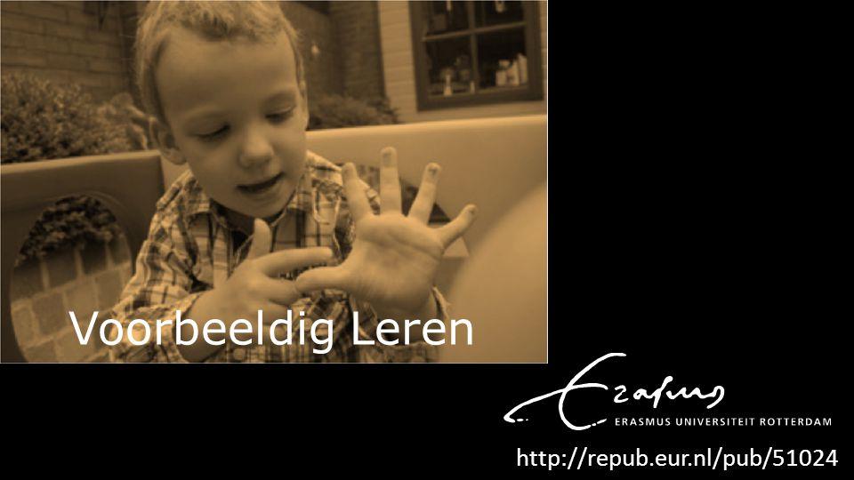 Voorbeeldig Leren http://repub.eur.nl/pub/51024