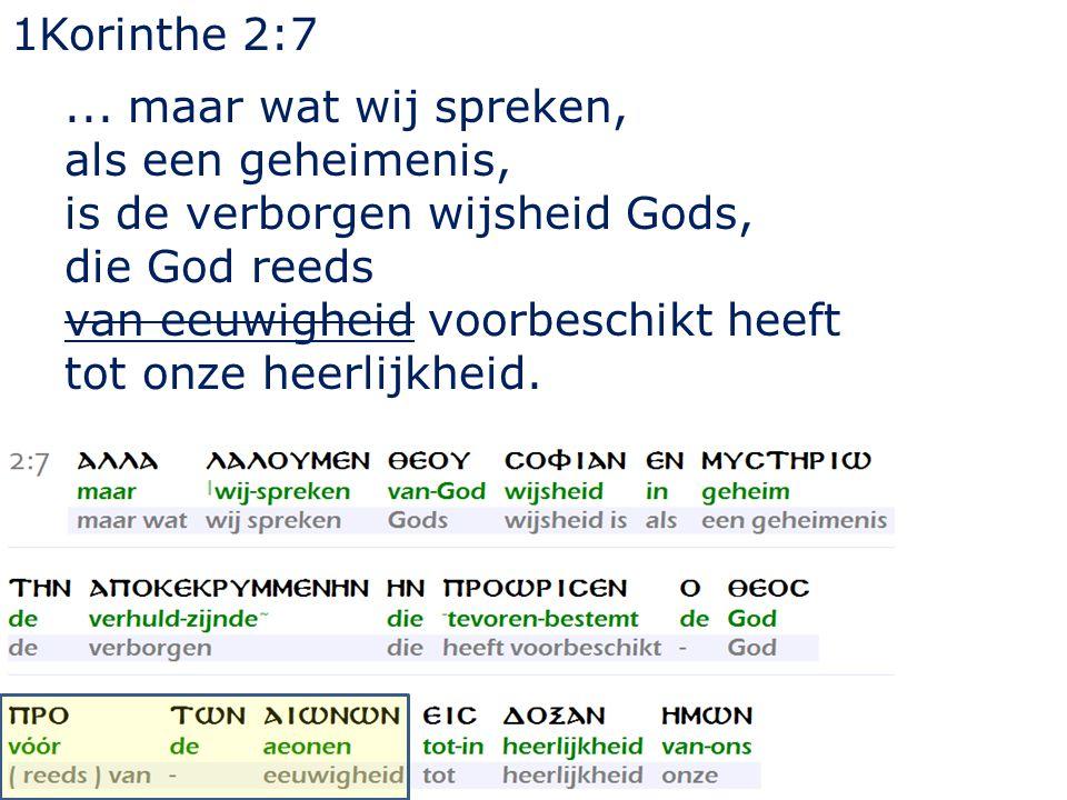 1Korinthe 2:7...