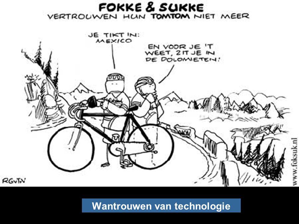 Vertrouwen op technologie