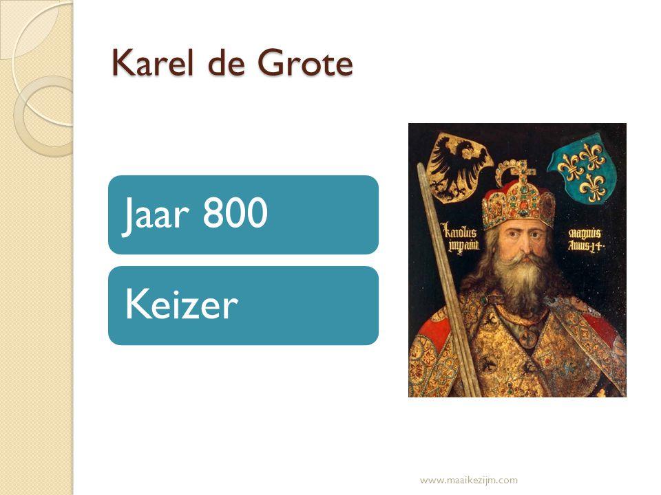 Karel de Grote Jaar 800Keizer www.maaikezijm.com