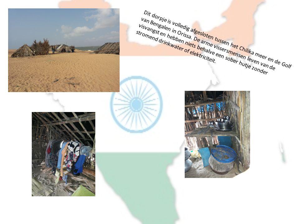 Dit dorpje is volledig afgesloten tussen het Chilika meer en de Golf van Bengalen in Orissa.