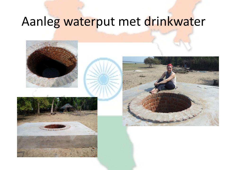 Aanleg waterput met drinkwater