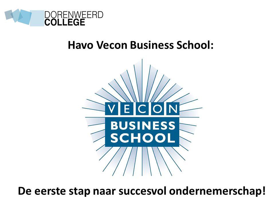 Havo Vecon Business School: De eerste stap naar succesvol ondernemerschap!