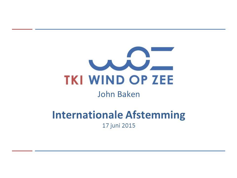 01 February 2014 Offshore Wind in the Netherlands2 TKI Offshore Wind Faciliterende rol in interactie tussen Nederlandse off shore wind sector en Internationale ontwikkelingen