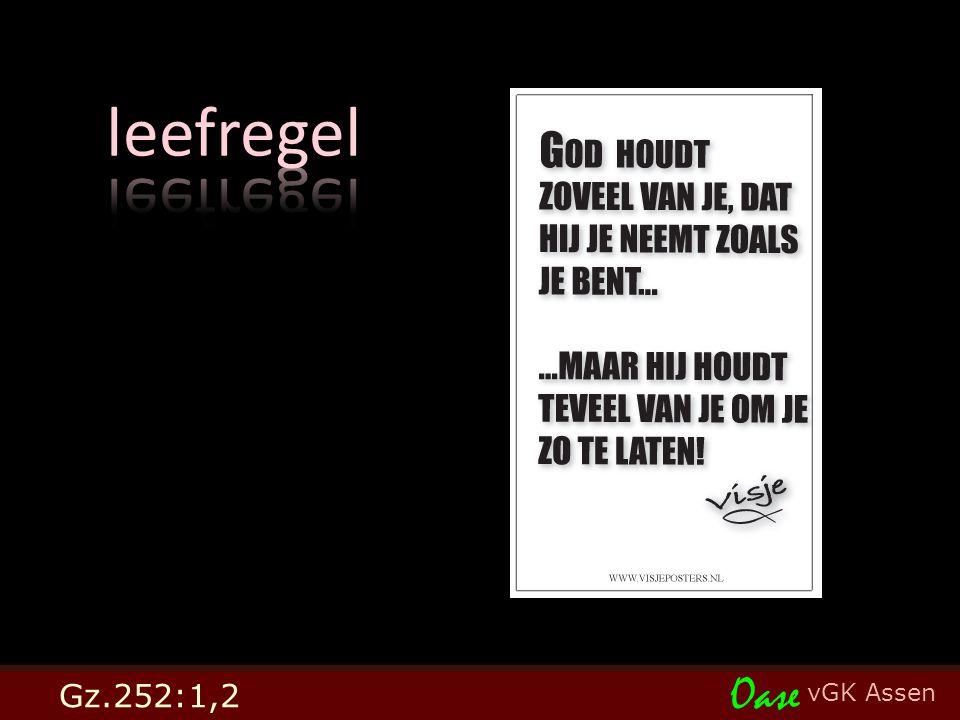 vGK Assen Oase Gz.252:1,2