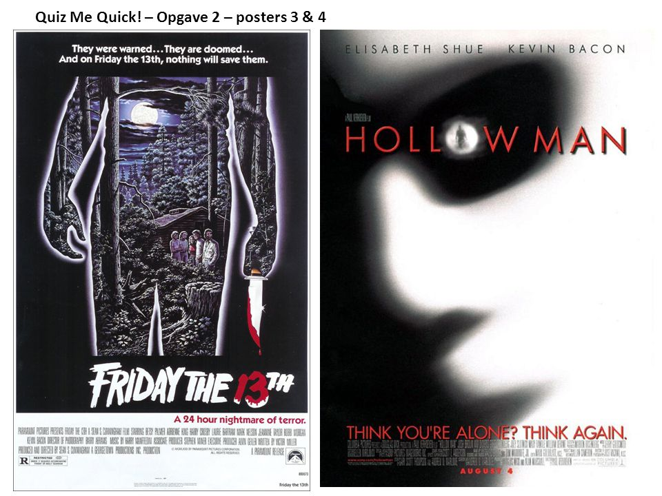 Quiz Me Quick! – Opgave 2 – posters 3 & 4