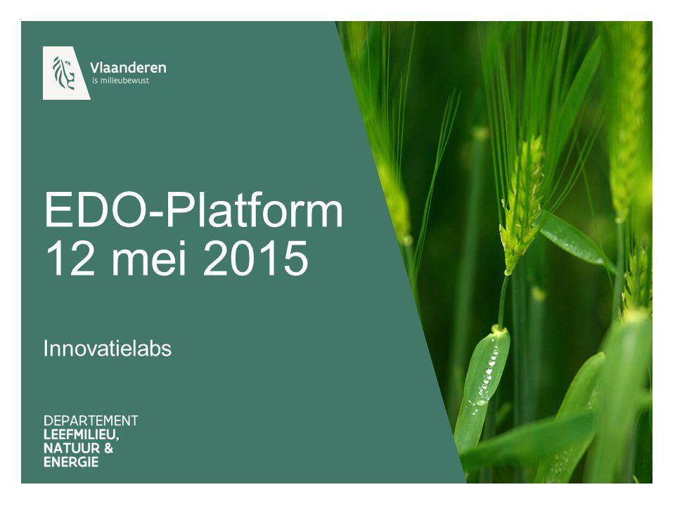 EDO-Platform 12 mei 2015 Innovatielabs