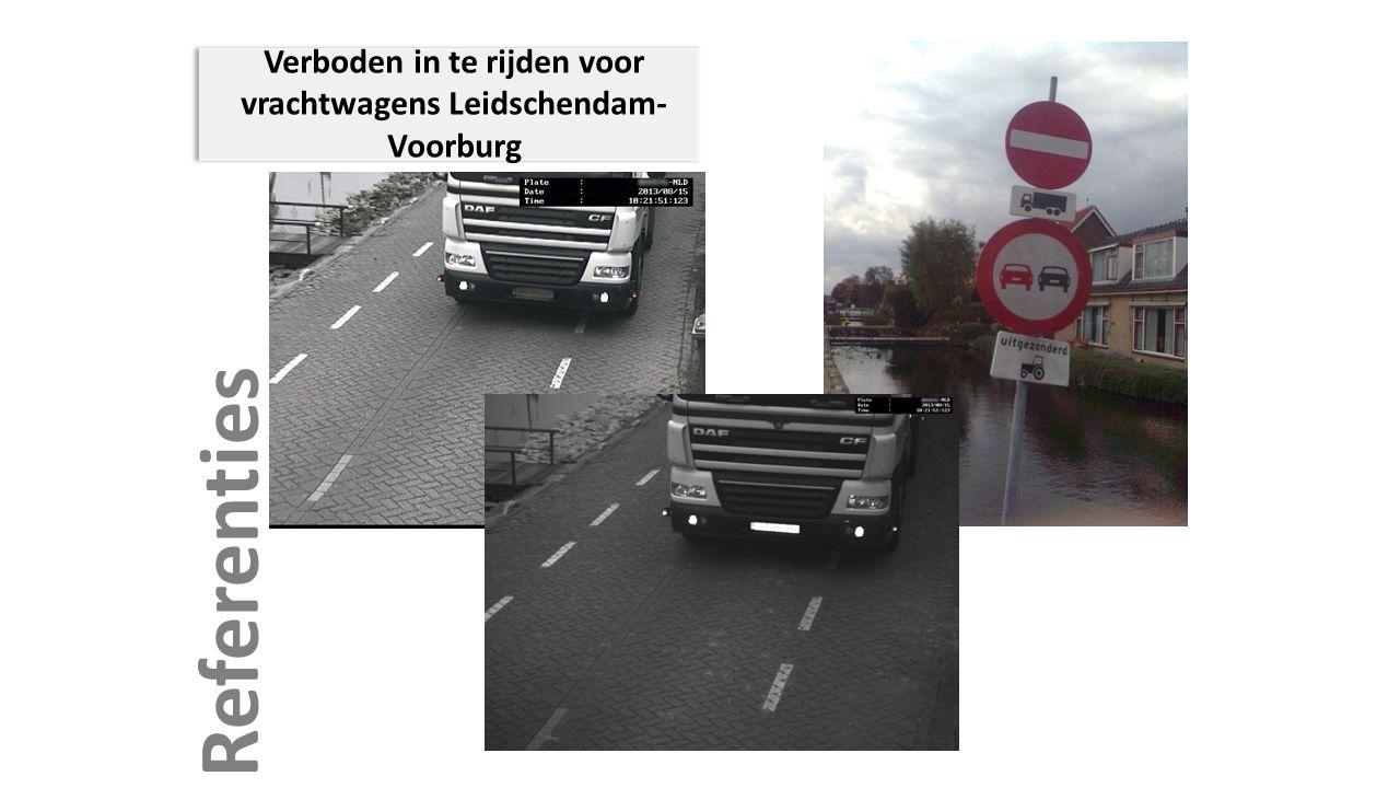 Referenties Verboden in te rijden voor vrachtwagens Leidschendam- Voorburg