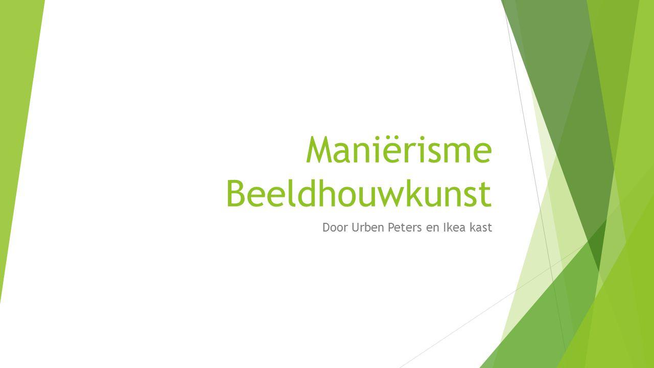 Maniërisme Beeldhouwkunst Door Urben Peters en Ikea kast