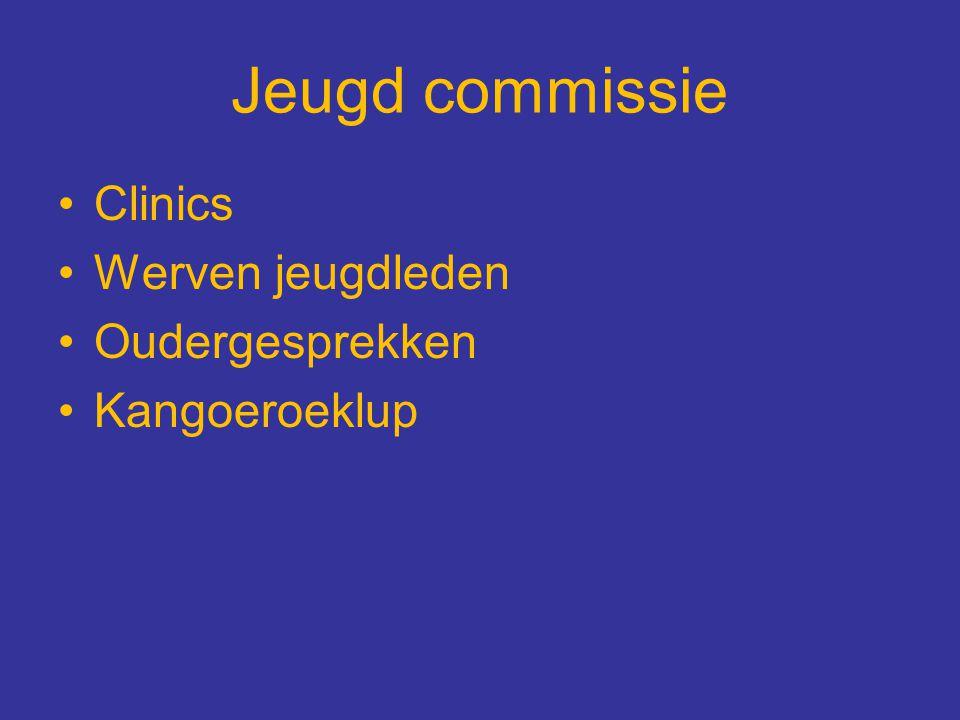 Jeugd commissie Clinics Werven jeugdleden Oudergesprekken Kangoeroeklup