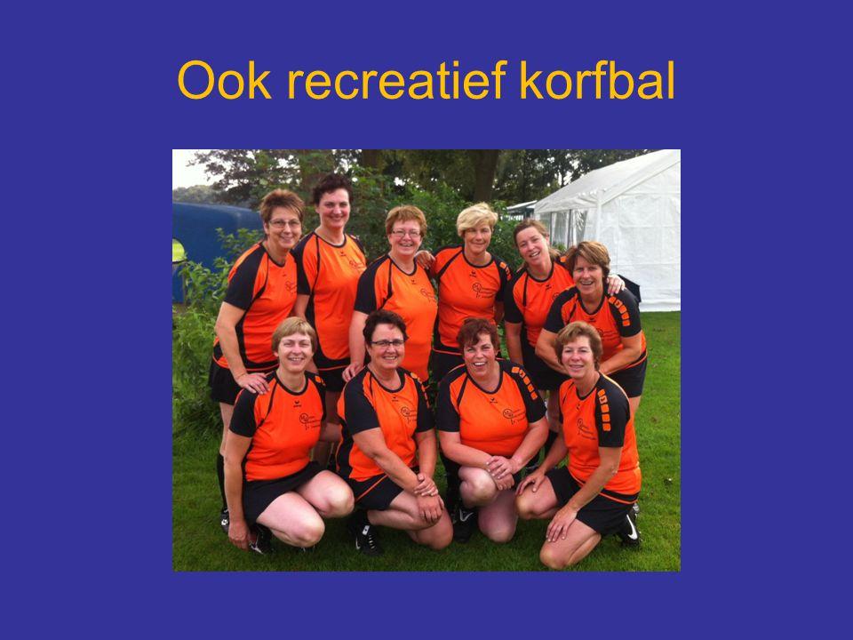 Ook recreatief korfbal