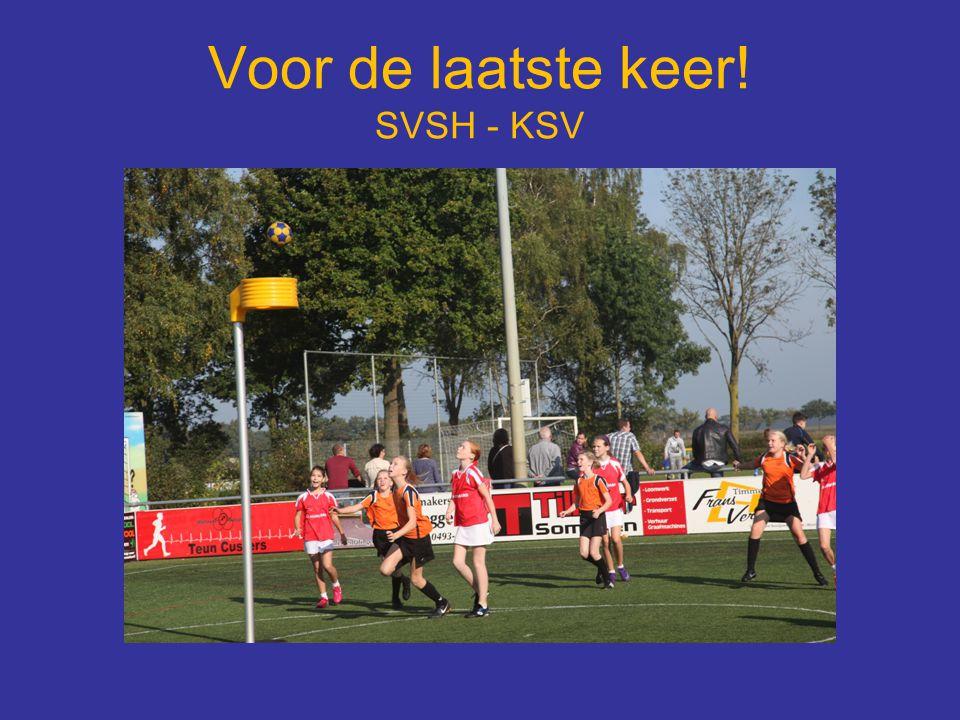 Voor de laatste keer! SVSH - KSV