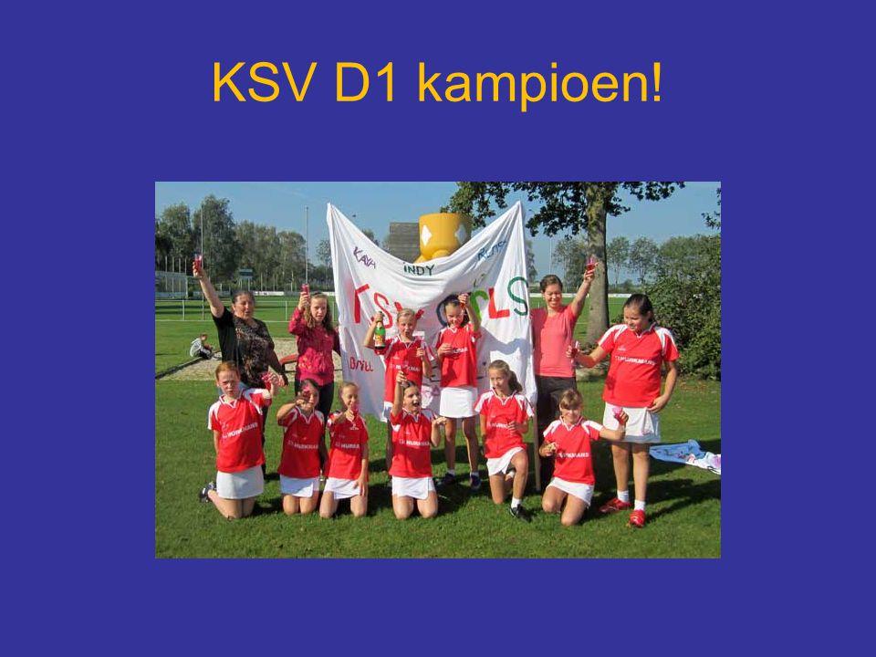 KSV D1 kampioen!