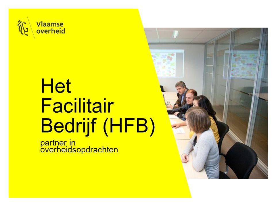 Het Facilitair Bedrijf (HFB) partner in overheidsopdrachten