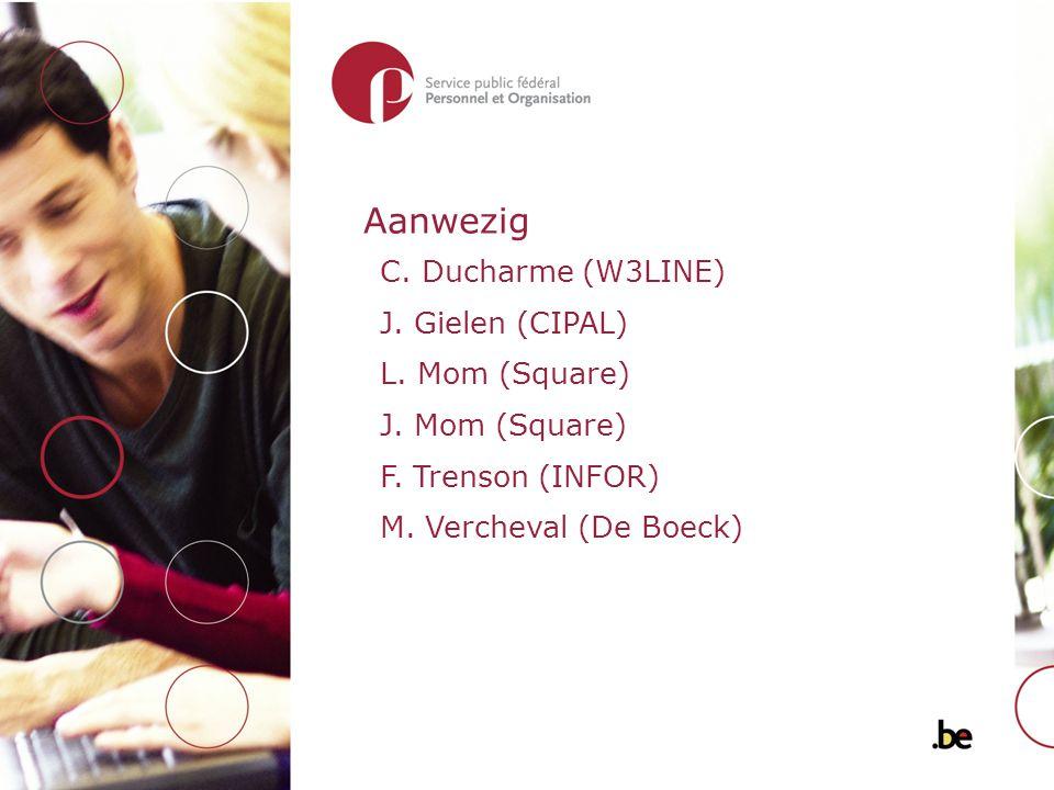 Aanwezig C. Ducharme (W3LINE) J. Gielen (CIPAL) L.