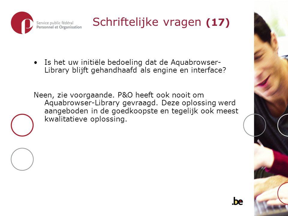 Is het uw initiële bedoeling dat de Aquabrowser- Library blijft gehandhaafd als engine en interface.