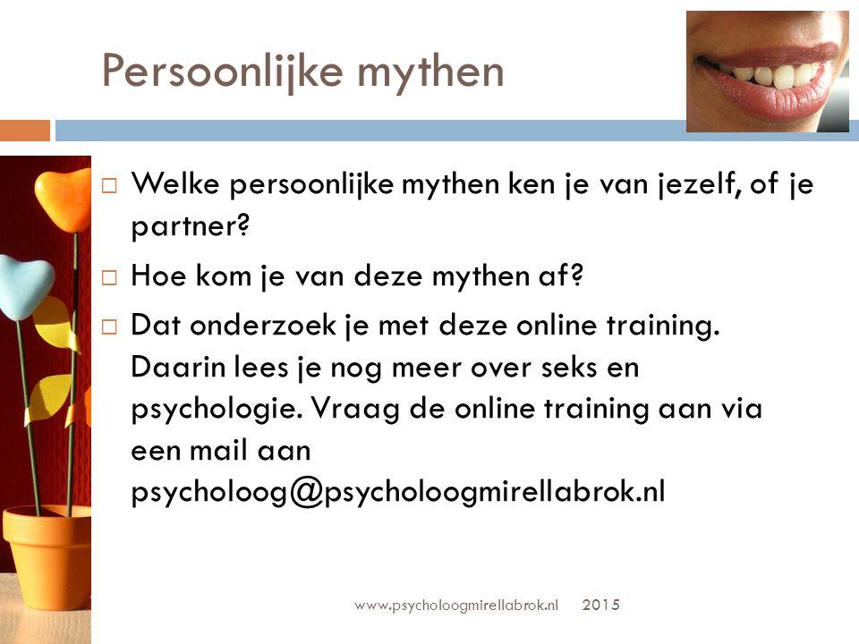 RELATIONEEL Jullie patroon Psycholoog Mirella Brok