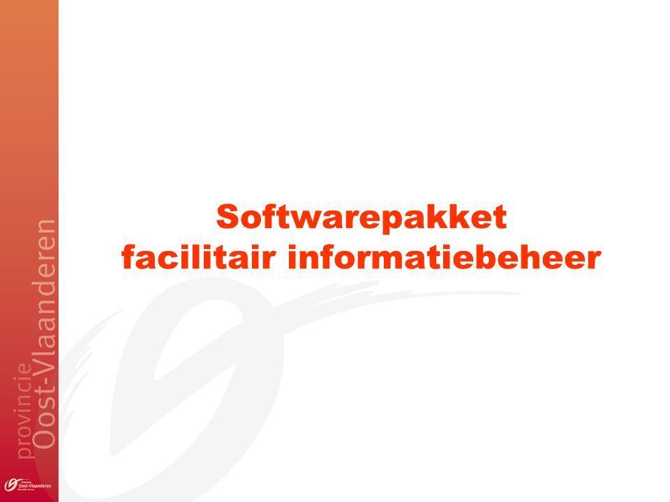 Softwarepakket facilitair informatiebeheer