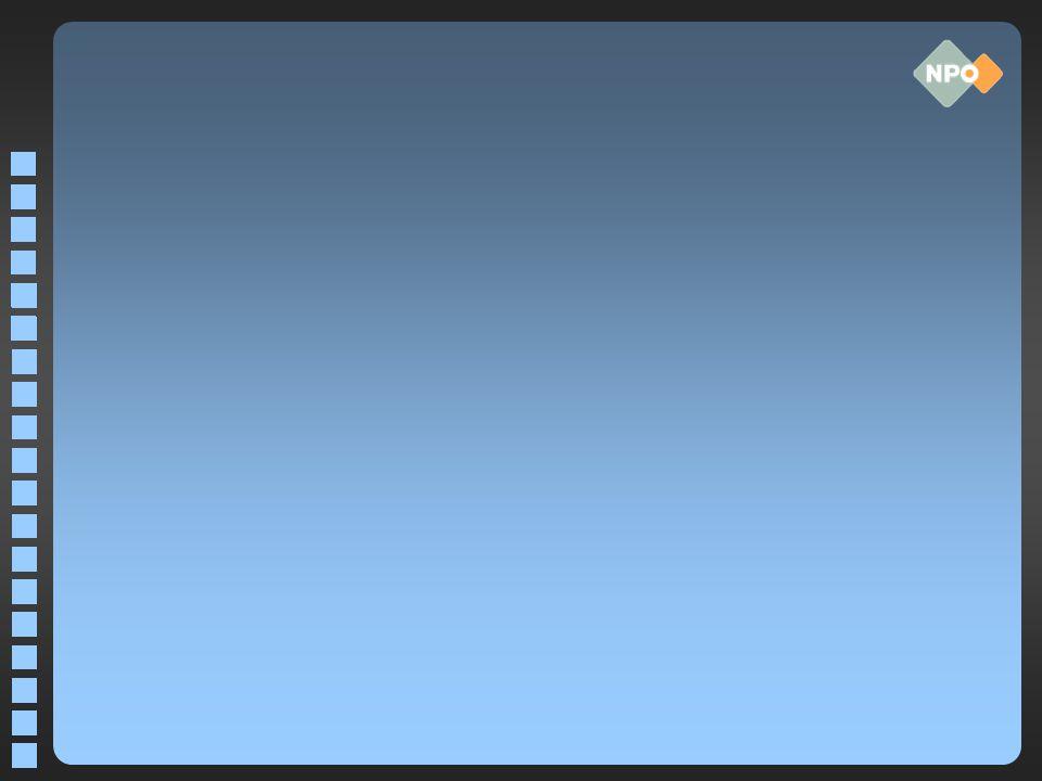 Streaming audio WMA, MP3 en AAC+ zijn backbone naar publiek –WMA en MP3 gekozen vanwege enorme installed base bij consument; AAC+ komt op –WMA proprietory standaard –AAC+ geen echte open standaard Fabrikanten van end-user equipment betalen patent licenties voor hardware of software producten met HE AAC encoders of decoders.