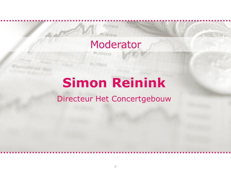 3 Moderator Simon Reinink Directeur Het Concertgebouw