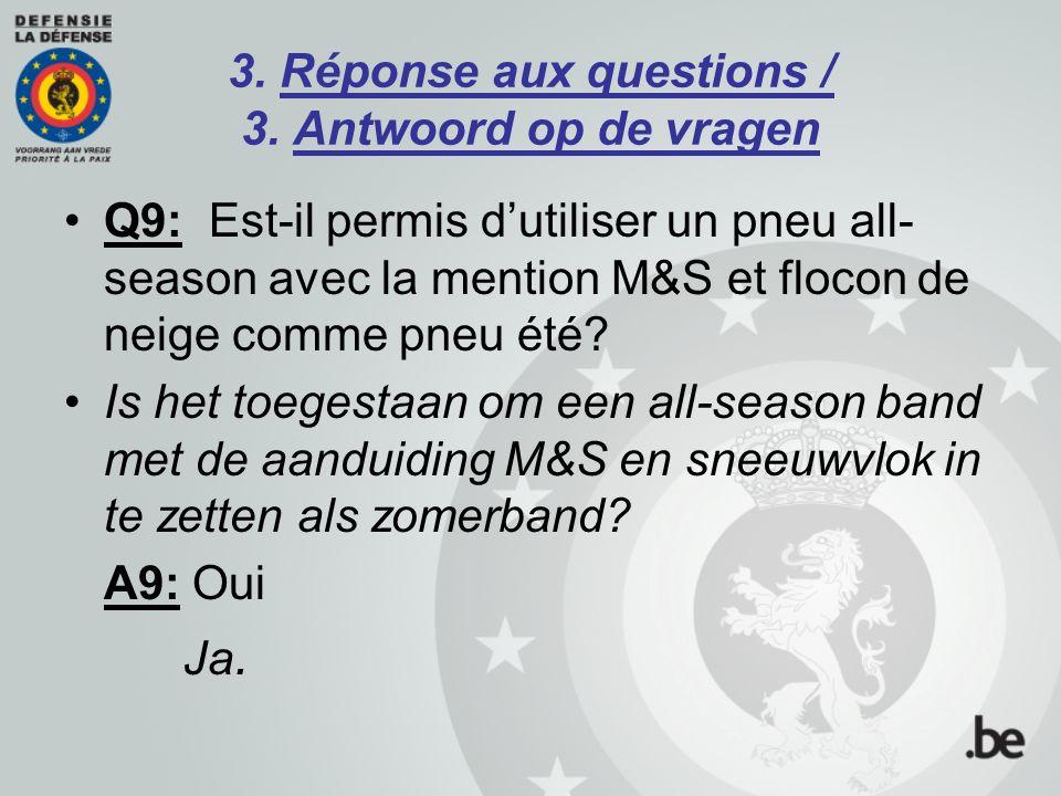 3.Réponse aux questions / 3.