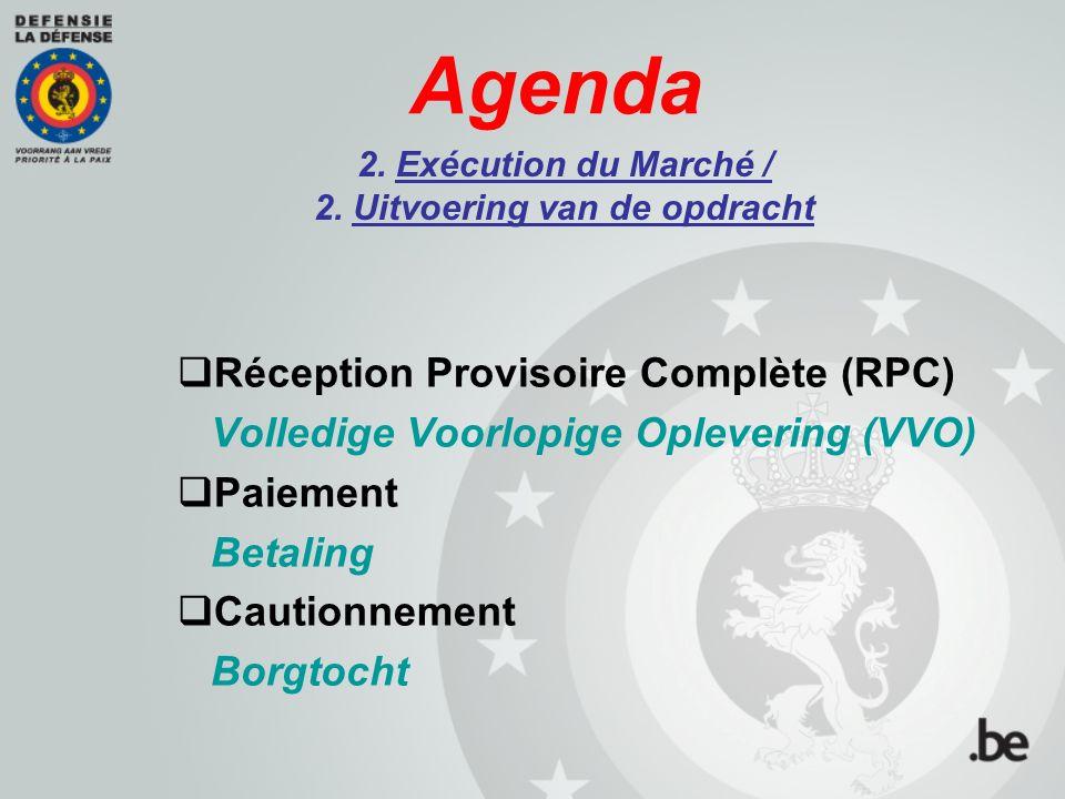 Agenda 3. Réponses aux questions 3. Antwoorden op de vragen