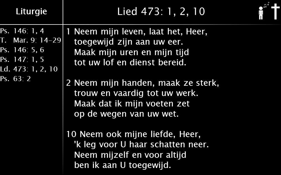 Ps.146: 1, 4 T.Mar.