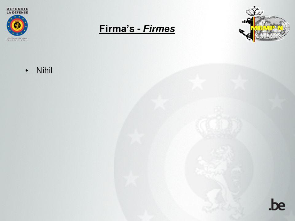 Nihil Firma's - Firmes