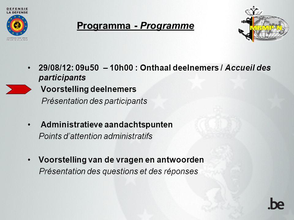 Landsverdediging – Défense –Leidende Dienst: 1LZ Claude BULTOT, Ing.