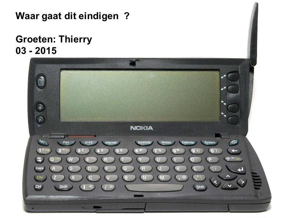 Een Smart Phone is een mobiele telefoon die tegelijk databank en mini computer is.