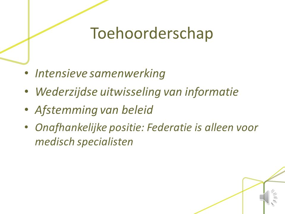 Federatie Medisch Specialisten -> De Jonge Specialist